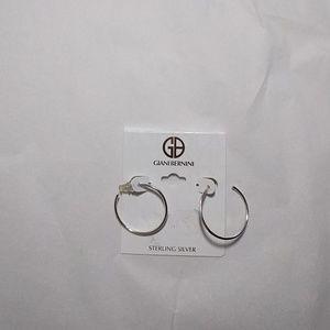 Giani Bernini Sterling Silver Hoop Earrings